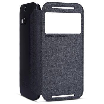 Nillkin Sparkle Folio Pouzdro Black pro HTC ONE (M8)