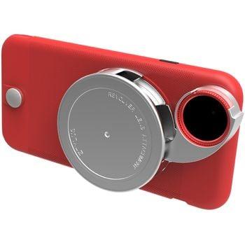 Ztylus Revolver Lite sada objektivů pro iPhone 6S/6, červený