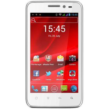 Prestigio MultiPhone 4300 DUO, bílá