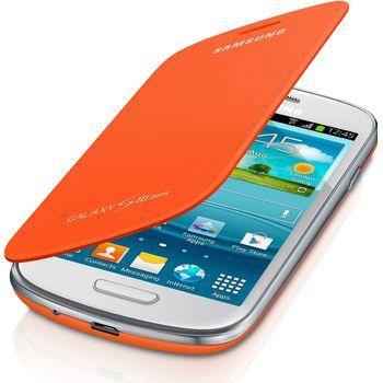 Samsung flipové pouzdro EFC-1M7FO pro Galaxy S III mini (i8190), oranžová