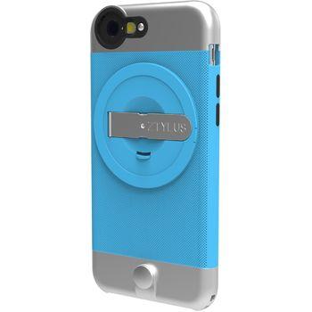 Ztylus Metal kryt se stojánkem pro iPhone 6S/6, modrý