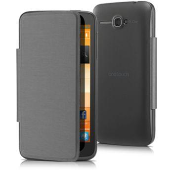 Alcatel flipové pouzdro pro One Touch X'POP, černá