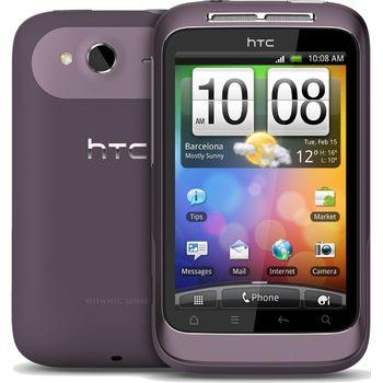 HTC Wildfire S purple - rozbaleno, plná záruka