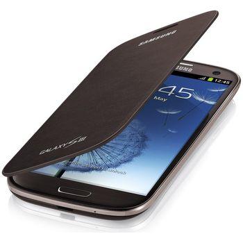 Samsung flipové pouzdro EFC-1G6FA pro Galaxy S III (i9300), Amber Brown
