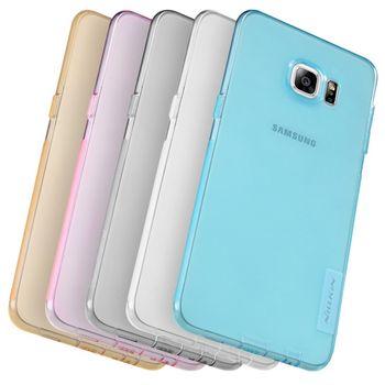 Nillkin pouzdro Nature TPU pro Samsung G928 Galaxy S6 Edge Plus, šedé
