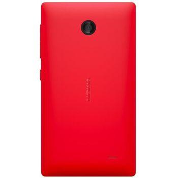 Nokia CC-3080 pevný kryt Nokia X DS/X+ DS, červený