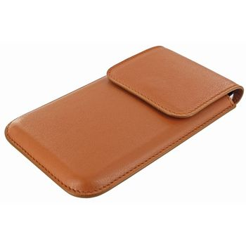 Piel Frama pouzdro pro Samsung Galaxy S4 Unipur, Tan