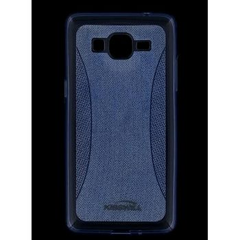 Kisswill TPU Shine pouzdro pro Samsung G925 Galaxy S6 Edge, modré