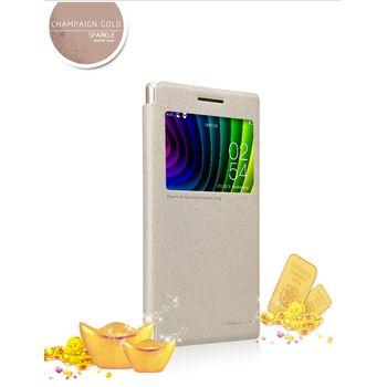 Nillkin Sparkle S-View Pouzdro Gold pro Lenovo P70