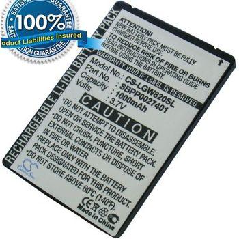 Baterie pro LG GT540 Optimus, GW620, GX500, Li-ion 3,7V 1000mAh