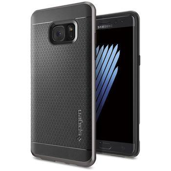 Spigen ochranný kryt Neo Hybrid pro Galaxy Note 7, kovově šedé