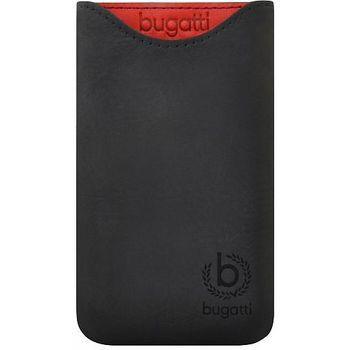 Bugatti Skinny Universal leather case 2XL - černé