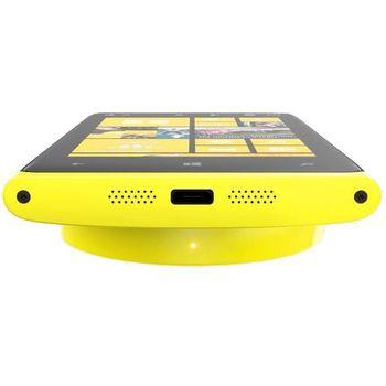 Nokia bezdrátová nabíjecí podložka DT-900 - Nokia Lumia 920/820, žlutá