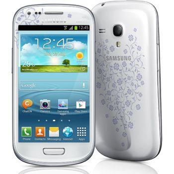 Galaxy S III Mini NFC La Fleur + držák s nabíjením Brodit