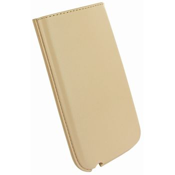 Piel Frama pouzdro pro iPhone 5 Pull, Cream