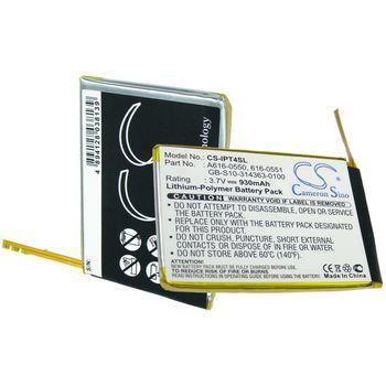 Baterie náhradní pro Apple  iPod Touch 4th, Li-pol 3,7V 930mAh