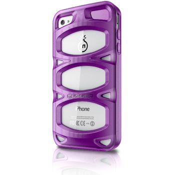 Musubo pouzdro Double X pro Apple iPhone 4/4S - fialové