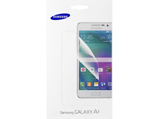 obsah balení Samsung ochranná fólie na displej ET-FA300CT pro Galaxy A3, čirá