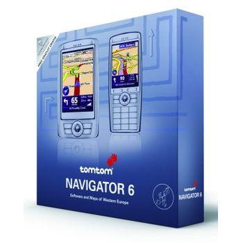 TomTom Navigator 6 SW na miniSD - CZ/SK/PL/HU/ + DVD TomTom 6 mapy západní Evropy verze 6.6