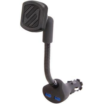 Scosche magicMOUNT Power magnetický držák do autozapalovače s 2x USB konektorem