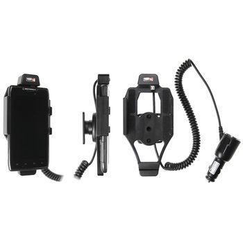 Brodit držák do auta pro Motorola Razr MAXX s nabíjením z cig. zapalovače