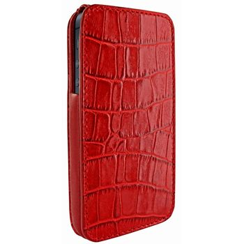 Piel Frama pouzdro pro iPhone 5 iMagnum, Crocodile Red
