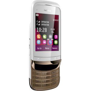 Nokia C2-02 Golden White
