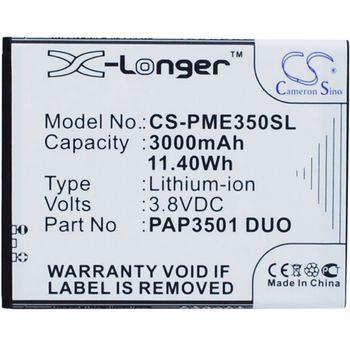 Baterie pro Prestigio MultiPhone 3501 Duo, Li-ion 3,7 V, 3000 mAh