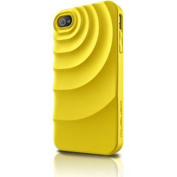 Musubo pouzdro Ripple pro Apple iPhone 4/4S - žlutá