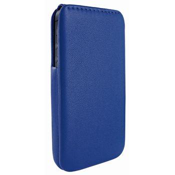 Piel Frama pouzdro pro iPhone 5 iMagnum, Blue (kvalitní kůže, ruční výroba ve španělské manufaktuře)