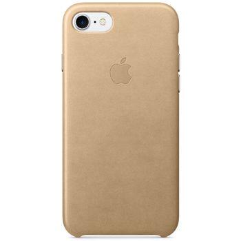 Apple kožený kryt pro iPhone 7, žluto hnědý