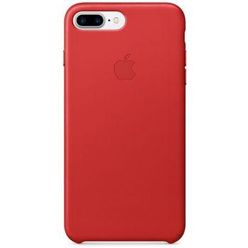 Apple kožený kryt pro iPhone 7 Plus, červený