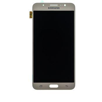 Náhradní díl LCD display + Dotyk Samsung J710 Galaxy J7 2016 zlatá