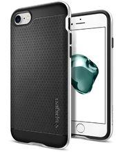 Spigen ochranný kryt Neo Hybrid pro iPhone 7, stříbrná