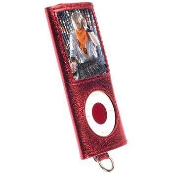 Krusell pouzdro Encore - Apple iPod Nano 4G - červená