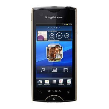 Sony Ericsson Xperia ray - zlatá