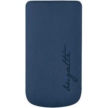 Bugatti Perfect Velvety leather case pro Samsung Galaxy S III (i9300) - modré