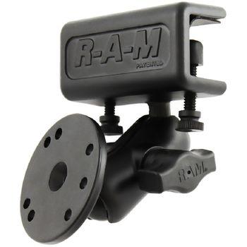 RAM Mounts sestava s kruh. adaptérem, krátkým ramenem a úchytem na desku, RAM-B-177-202-AU