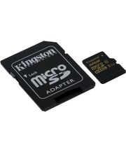 Kingston microSDXC 32GB Class 10/UHS-I, zápis 45MB/s + SD adaptér