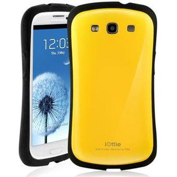 iOttie Macaron - ochranné pouzdro pro Samsung Galaxy SIII žluté