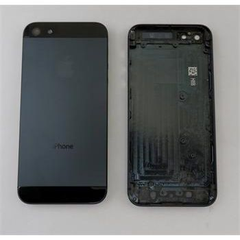 Náhradní díl zadní kryt vč. středu pro iPhone 5, černý