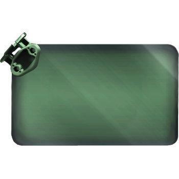 RAM Mounts sluneční stínidlo zelené, 50% zatmavení, RAP-393-G1U