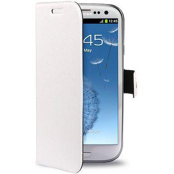 PURO pouzdro BookletSlim pro Samsung Galaxy S III - bílá