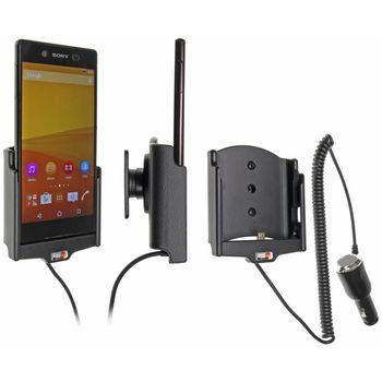 Brodit držák do auta na Sony Xperia Z3+ bez pouzdra, s nabíjením z cig. zapalovače