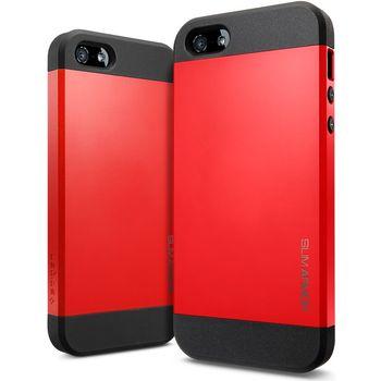 Spigen iPhone 5 Slim Armor ochranné pouzdro oranžové