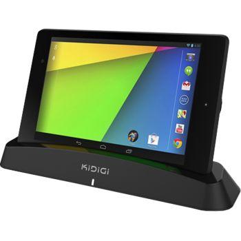 Kidigi bezdrátová dobíjecí kolébka pro Nexus 7 (2013), černá
