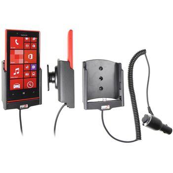 Brodit držák do auta na Nokia Lumia 720 bez pouzdra, s nabíjením z cig. zapalovače