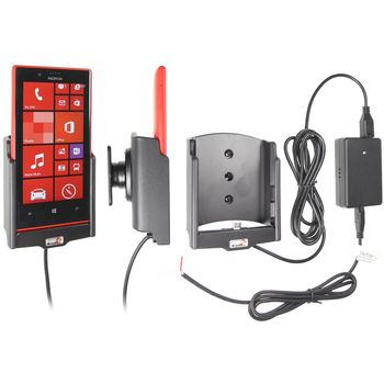 Brodit držák do auta na Nokia Lumia 720 bez pouzdra, se skrytým nabíjením