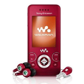 Sony Ericsson W580i Red