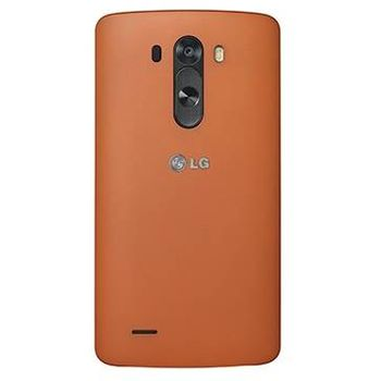 LG ochranný pevný kryt Premium CCH-355G pro LG G3, hnědé